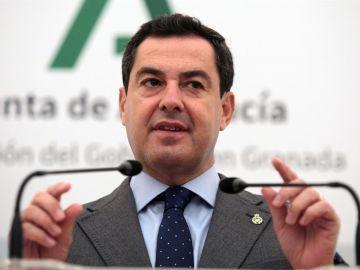 Juanma Moreno, presidente de Andalucía
