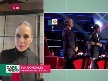 """Eva González destapa las claves de la gran final de La Voz: """"Vamos a asistir a un conciertazo esta noche"""""""