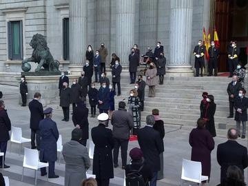 Acto de homenaje a la Constitución en el Congreso