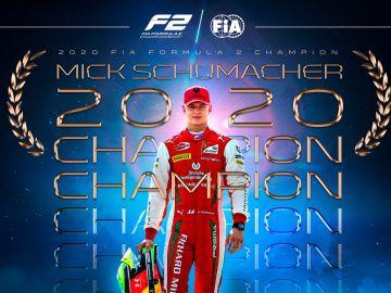 Mick Schumacher, campeón de F2