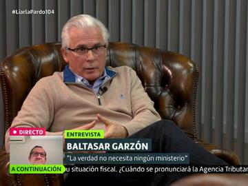 Baltasar Garzón en Liarla Pardo