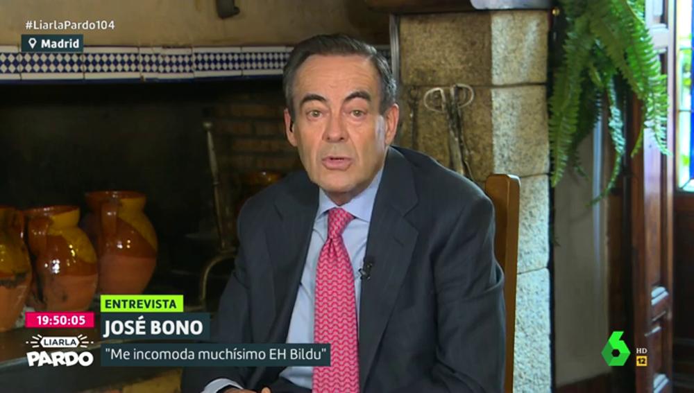 José Bono en Liarla Pardo