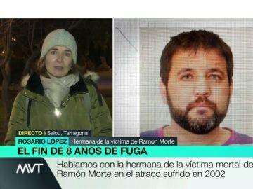 Habla la hermana de una víctima de Ramón Morte, fugado durante ocho años: