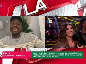 """Kelly, ganador de 'La Voz', da el bombazo en Zapeando: """"Confieso que no iba a ir con Laura Pausini sino con Antonio Orozco"""""""