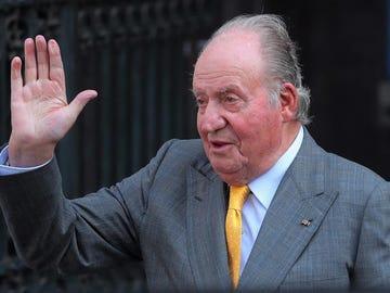 El rey emérito Juan Carlos I en una foto de archivo