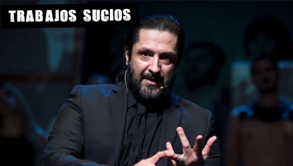 Rafael Amargo en la presentación de su espectáculo