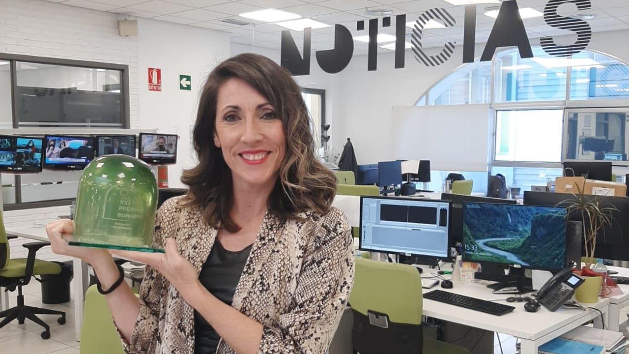 La periodista de laSexta Verónica Palomares