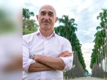 Jesús Antonio Quintana García, el español secuestrado
