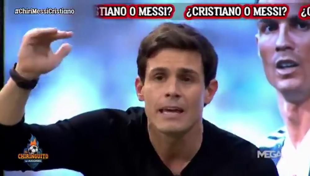 """Edu Aguirre lo deja claro: """"Messi jamás será como Cristiano"""""""