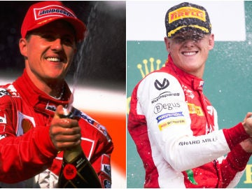 Michael Schumacher y Mick