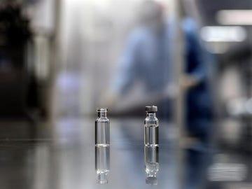 Imagen de archivo de vacunas