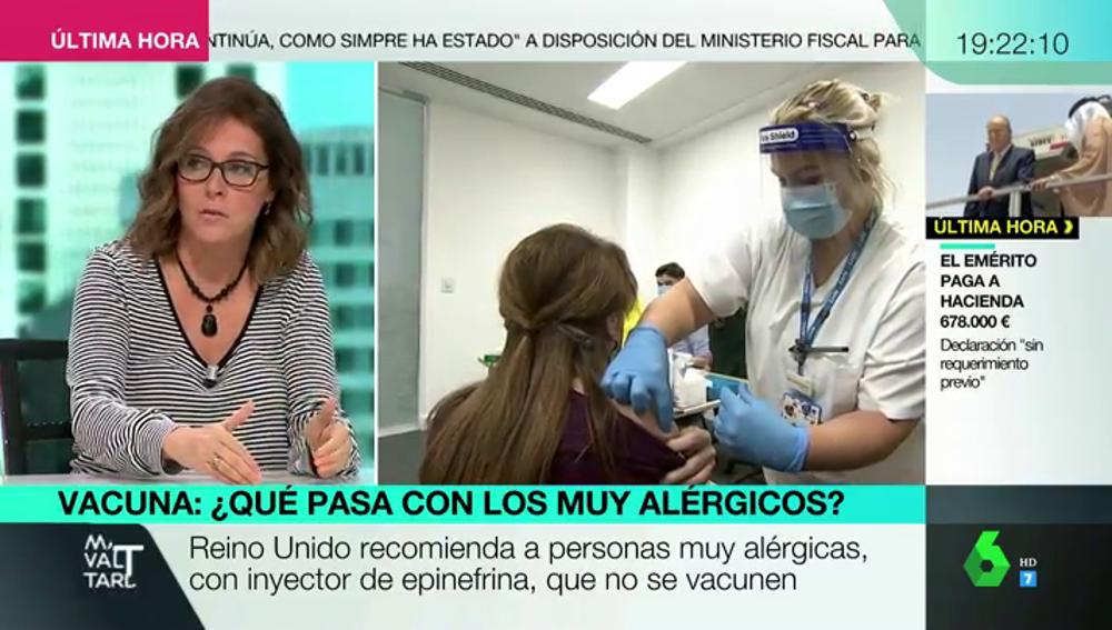 Los expertos responden: ¿debemos preocuparnos por la reacción alérgica de dos pacientes a la vacuna de Pfizer?