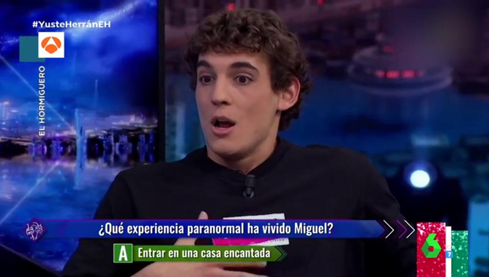 """La experiencia paranormal de Miguel Herran en una casa abandonada: """"Mi amigo empezó a hiperventilar, se cayó rígido al suelo"""""""