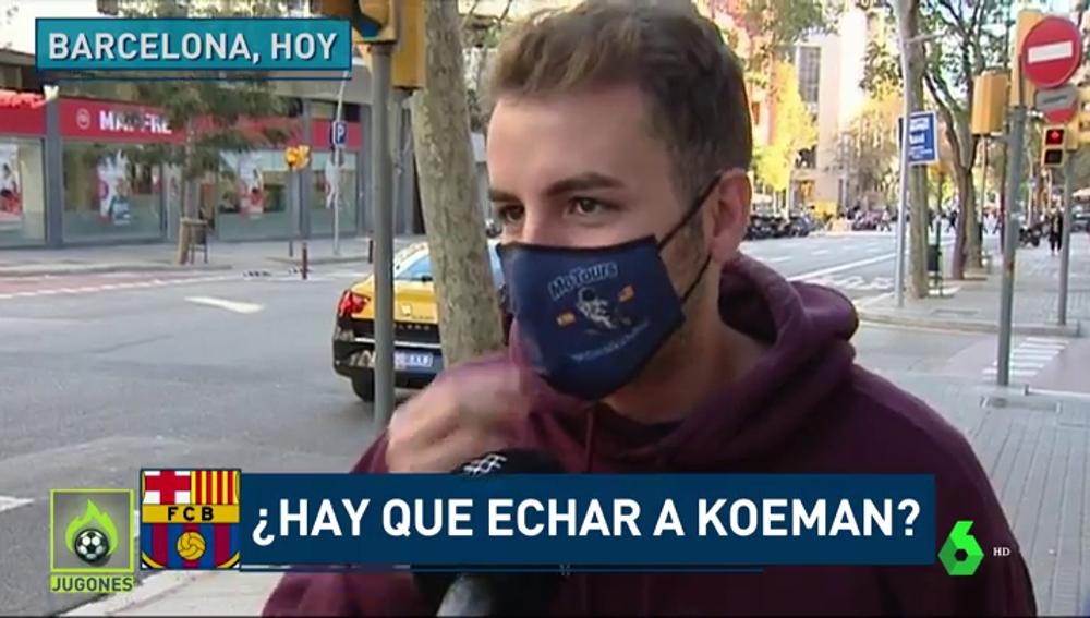 Hablan los aficionados culés: ¿debe el Barça despedir a Koeman?