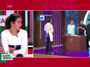 ¿Durmió Dabiz Muñoz en el sofá tras la eliminación de Josie de Masterchef? La respuesta de Cristina Pedroche