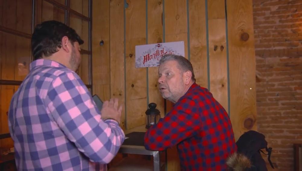 Echan a Alberto Chicote de un restaurante de quinta gama después de que el encargado se sienta acorralado por descubrir su 'secreto'