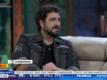 David Broncano deja 'pillado' a Antonio Orozco al hablar de Eva González en 'La Resistencia'