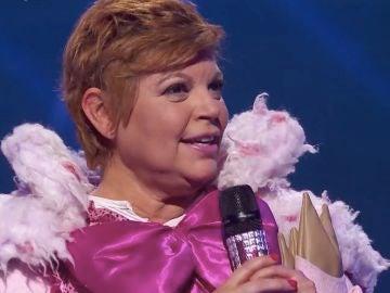 Terelu Campos sorprende en 'Mask Singer' tras esconderse bajo la máscara de Cerdita