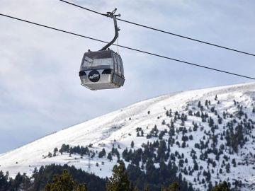La estación de esquí de La Molina.