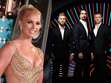 Birtney Spears y Backstreet Boys