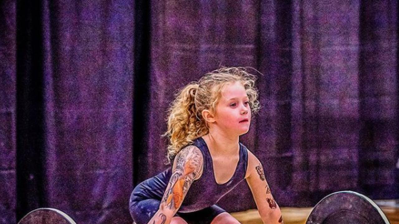 Rory van Ulft, la niña más fuerte del mundo