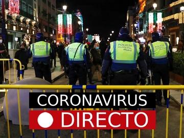Coronavirus en España | Cierre perimetral, toque de queda y medidas de Navidad por COVID, directo