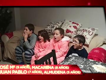 """La divertida reacción de cuatro niños al escuchar la broma de Zapeando: """"¡Menuda mierda de pandemia, va a quitárnoslo todo!"""""""
