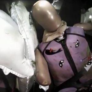 Un dummy de automoción