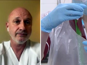 """La advertencia del experto en epidemias José Félix Hoyos: """"En cualquier momento el COVID puede repuntar"""""""