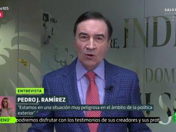"""Pedro J. Ramírez: """"Podemos no quiere proteger a los desfavorecidos, quiere hacer daño a quien se abre camino con su mérito"""""""