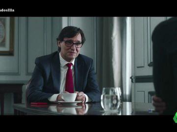 """La sorprendente llamada de Sánchez a Illa para ofrecerle Sanidad: """"No te ocupará mucho tiempo y podrás dedicarte a Cataluña"""""""