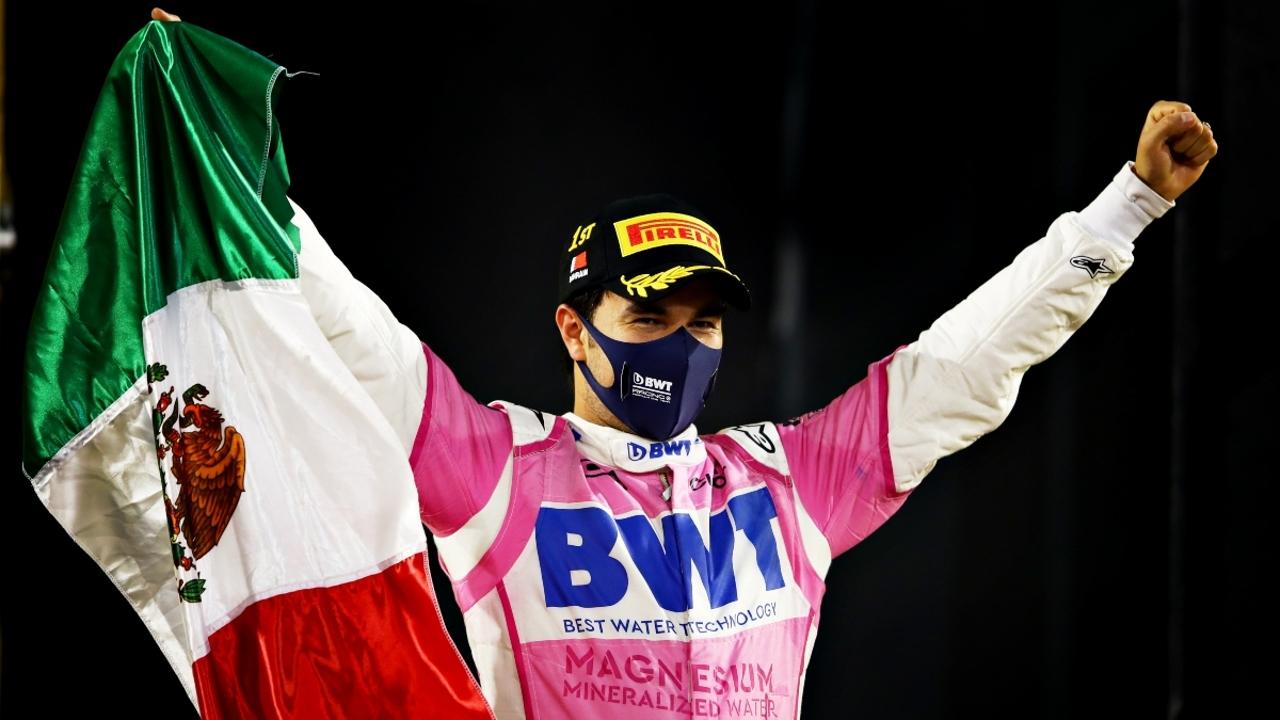 Sergio Pérez, con Racing Point