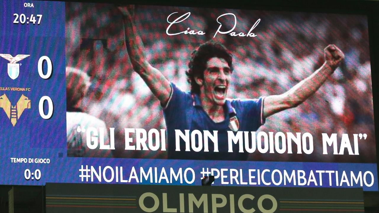 Homenaje en la Serie A a Paolo Rossi