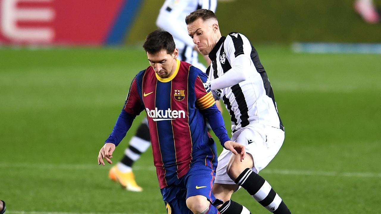 Messi, ante el Levante