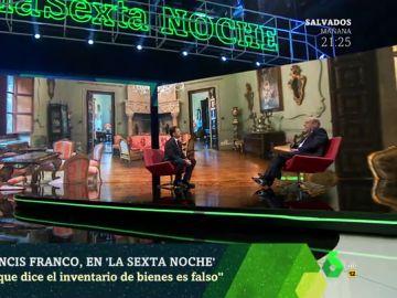 Francis Franco en laSexta Noche