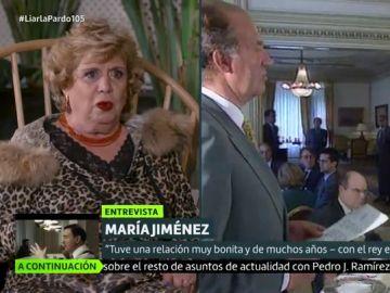 María Jiménez en Liarla Pardo