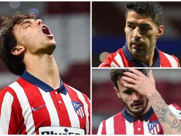 Joao Félix, Suárez y Saúl