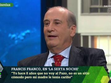 """Francis Franco: """"Estamos en un gobierno comunista y aquí todo va en contra de la propiedad privada"""""""