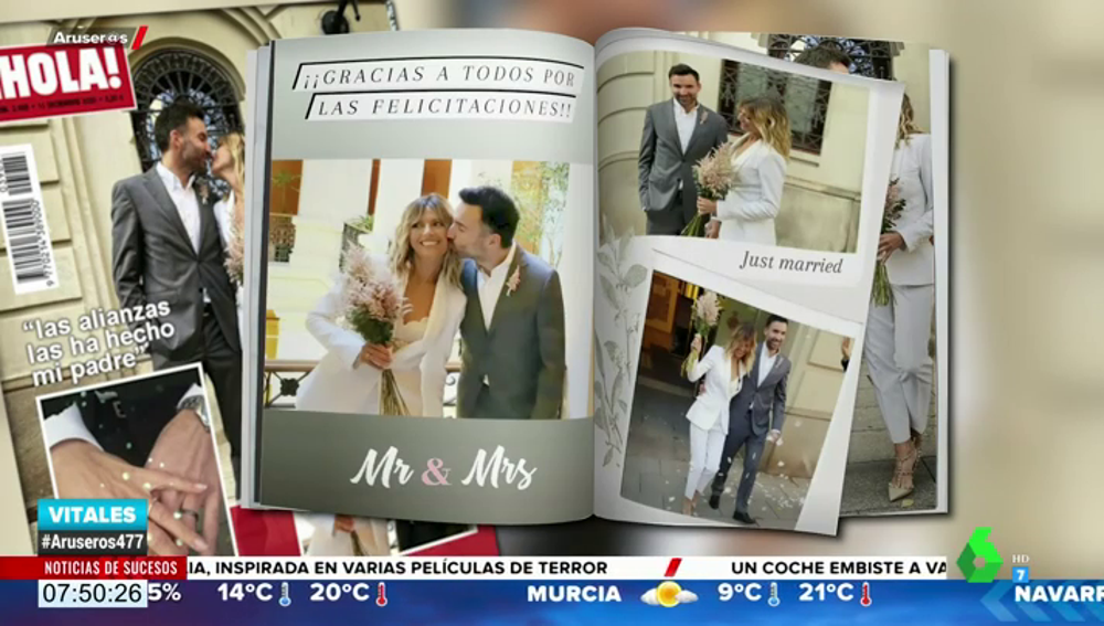 Las imágenes inéditas de la boda de María Moya