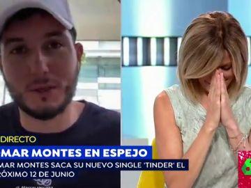 Las muestras de amor de Omar Montes a Susana Grisso que sonrojan a la periodista en directo