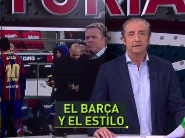 """Pedrerol: """"Dejemos de insistir en el ADN, este Barça no está para bromas"""""""