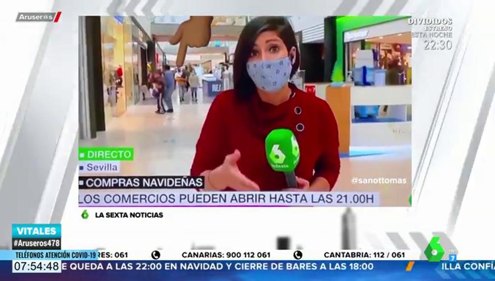 El troleo de un padre y un hijo a una reportera de laSexta Noticias del que todo el mundo habla