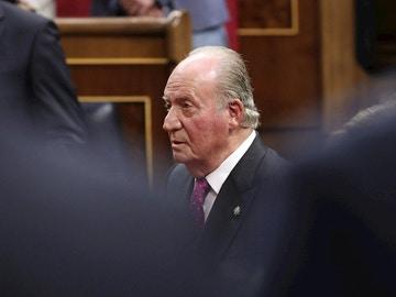 Imagen de archivo del rey emérito Juan Carlos I