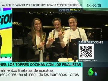 Gastroelecciones: este es el menú de los hermanos Torres preparado con los mejores productos de España