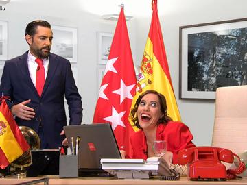 """El vídeo que 'destapa' cómo Ayuso preparó su reunión con Sánchez: """"Nadie se imaginará que estoy en el despacho trabajando"""""""