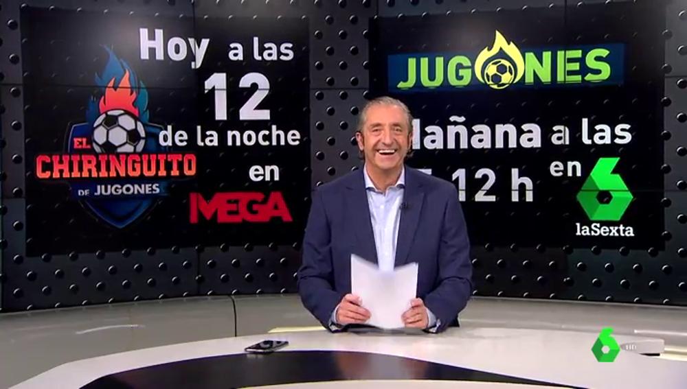 """El vacile de Pedrerol a Llapart: """"Gracias por acordarte de mi hermano Joan"""""""