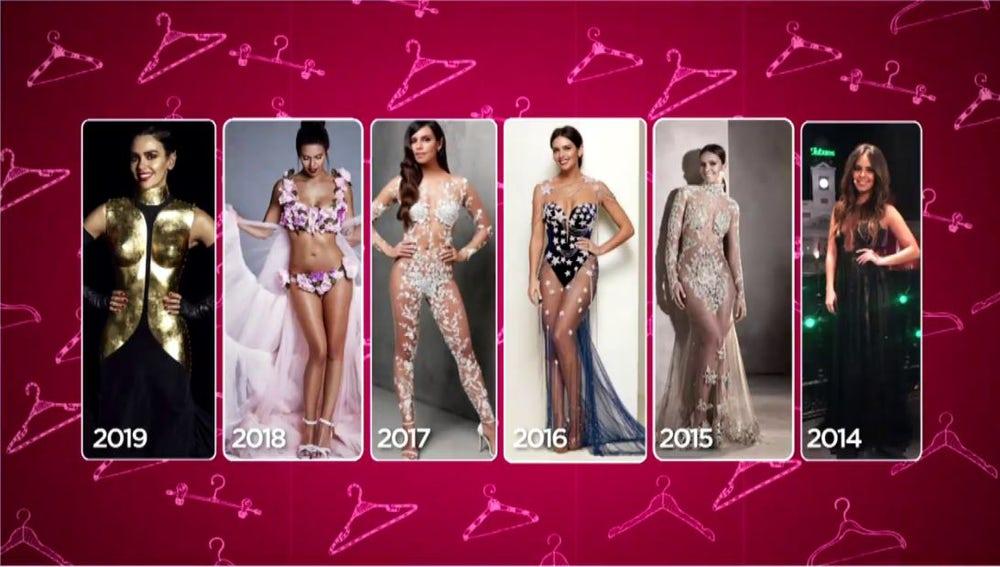 Todos los vestidos de las Campanadas de Cristina Pedroche