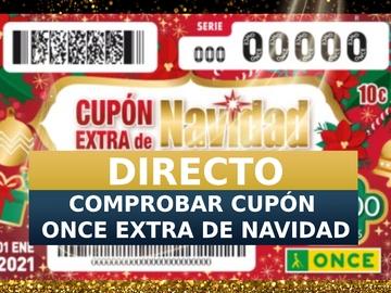 Sorteo ONCE 1 de enero 2020 | Comprobar cupón extra de Navidad, en directo