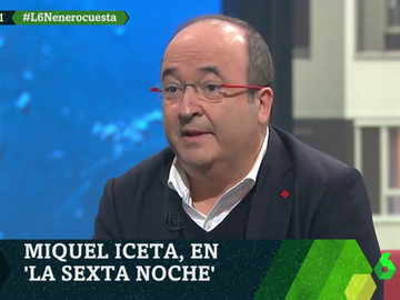 Miquel Iceta en laSexta Noche