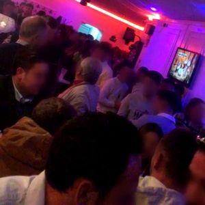 Imagen del interior de un bar de Teba sin respetar las medidas de seguridad